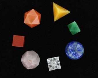 Chakra Geometry Set Size 17-22mm