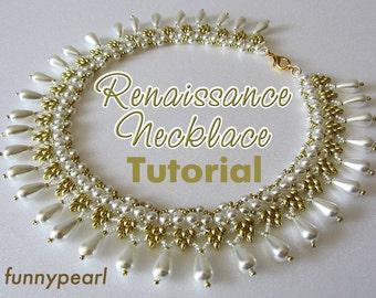 Necklace Renaissance. Tutorial PDF