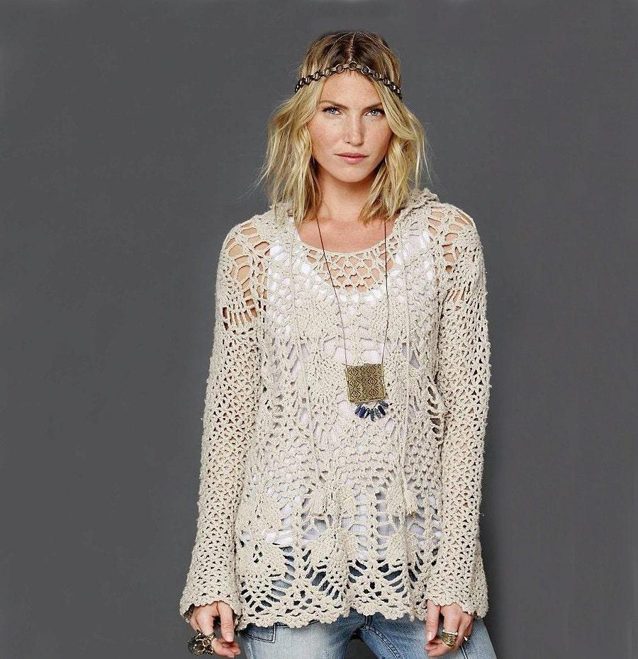 Boho Tunic Pattern Trendy Crochet Tunic Pattern