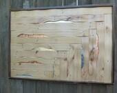Wood Wall Art, Pallet Wall Art, Wooden Wall Art, Rustic Home Decor, Industrial Decor, Pallet Furniture, Pallet Art, Office Wall Decor,