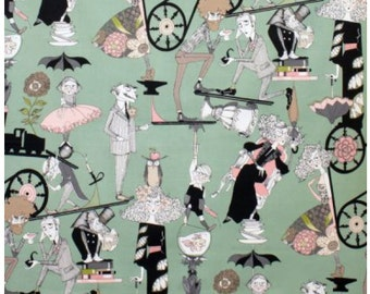 A Ghastlie End Alexander Henry Green Headstone Background 100% Cotton Fabric by the yard