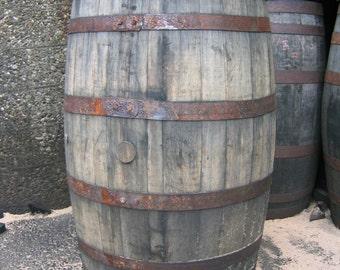 Freshly Emptied Bourbon Barrels