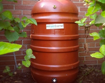 Rain Barrel, DIY Kit, Used Food Grade Barrel, Upcycled