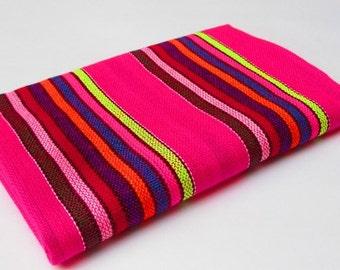 Mexican Fabric, Tribal fabric, aztec fabric, tribal fabric by the yard Mexican print Tribal pattern aztec print bohemian fabrics embroidered
