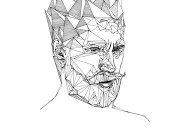 ORIGINAL ARTWORK - ATLAS #1