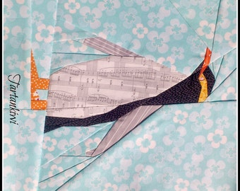 Yellow Eyed Penguin - A Paper Piecing Pattern