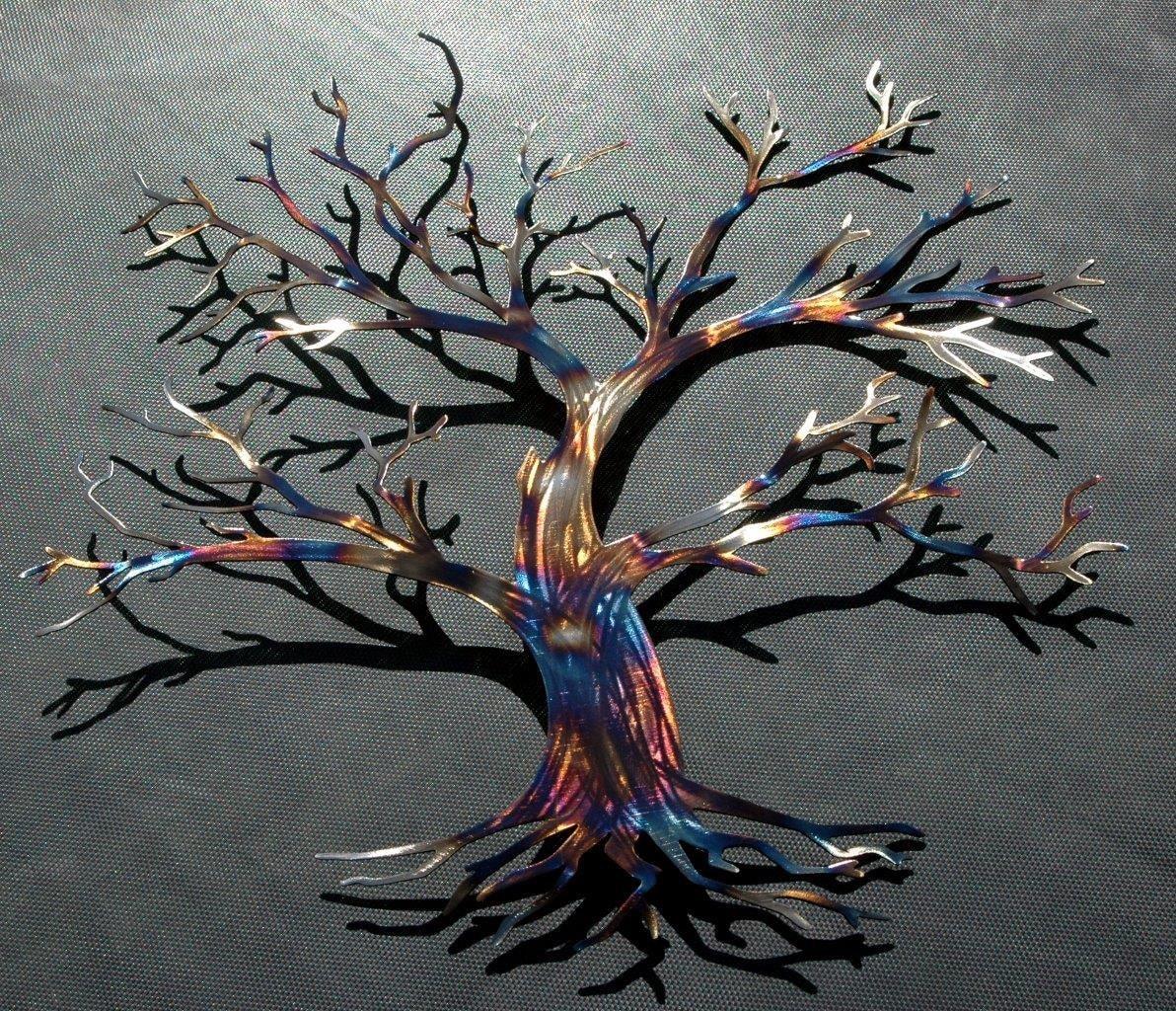 tree of life maple tree wall decor by humdingerdesignsetsy. Black Bedroom Furniture Sets. Home Design Ideas