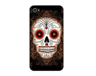 Case cover for Iphone 4/4S or 5/5S - Mexican Skull head