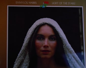 Emmylou Harris- Light Of The Stable-vinyl record
