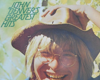 John Denver- Greatest Hits- vinyl record