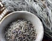 Wild Lavender Leaves,Dried lavender, Handpicked from Mountain Taigetos, The Calming Herb, 30gr