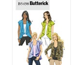 Butterick B5498 Misses' Jacket Sewing Pattern, Sizes 16-18-20-22, Misses Sewing Pattern, New, Uncut, Factory Folds
