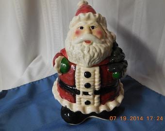 Vintage Santa cookie jar.