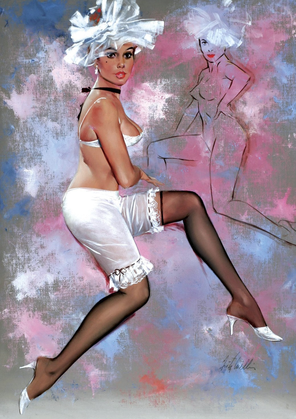 Fritz Willis - Pin Up Girls   Gallery of Vintage and