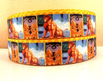 "5 YDS Lion King ""Can You Feel The Love Tonight"" Ribbon"