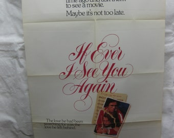 If I Ever See You Again 1978 780060   Movie Poster mp058