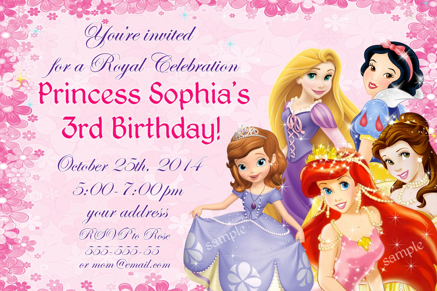 Disney Princess Birthday