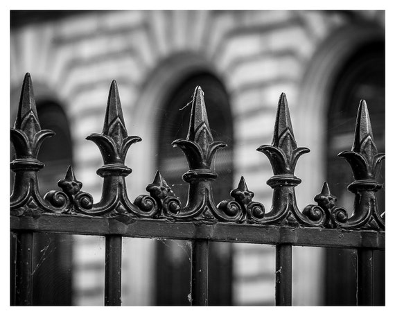 Fine art photography, fence, black and white, 5x7, 8x10,  Fence photography, Rustic Decor, Wall Decor, Home Decor, Fence photo