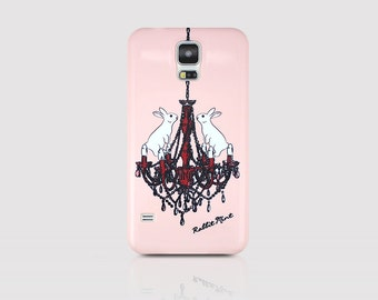 Samsung Galaxy S5 Case - Rabbit & Chandelier (P00059)