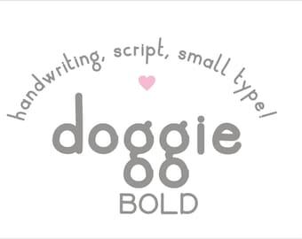 Doggie Font Bold
