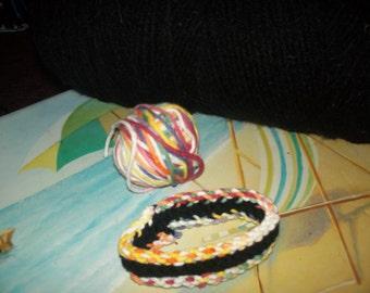 Triple Boondoggle handmade Bracelets