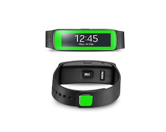 Samsung Gear Fit Wrap DECAL Sticker Skin Kit Neon series by Stickerboy