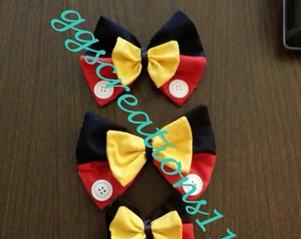 Mickey Bow tie or hair bow