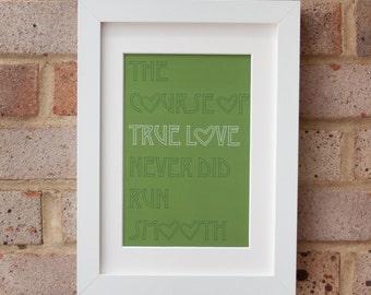 True Love - Gicleé print