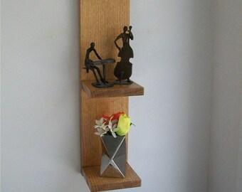 Quarter-Sawn Oak Display Shelf - medium