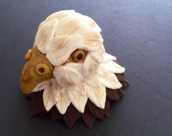 Eagle fondant cake topper