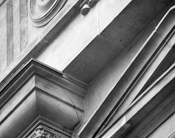 Digital Photography,#0999,ARCHITECTURE DETAIL,architecture,black and white,photographic print,City of Toronto,art print,wall art,photograph