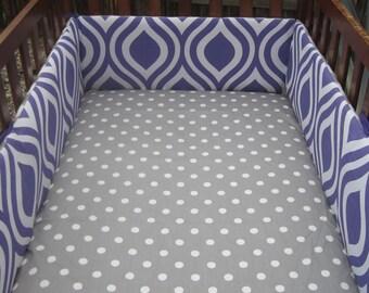 Custom Crib Bumper / Design Your Own / Baby Bedding