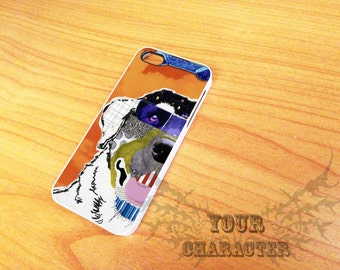 Dog Art  iPhone Case for iPhone 4/4s  iPhone 5/5s and iPhone 6/6Puls