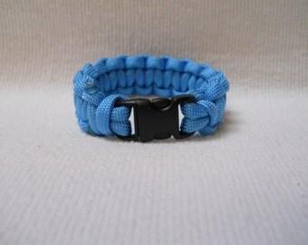 Paracord Bracelet, Survival Bracelet, Blue Bracelet, Blue Paracord Bracelet, 550 Paracord,Blue Paracord, Survival, Outdoor,Bracelet, Camping