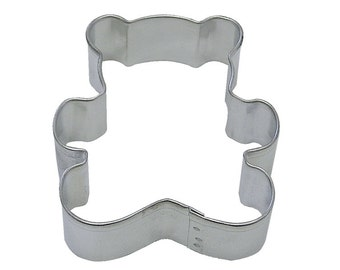 "3""  Teddy Bear Cookie Cutters Baking party supplies cake decorating clay fondant decorations 1140"