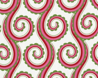 Large Curly Swirl fabric per yard by Pillow and Maxfield, Michael Miller fabric/ Sewing/ Crafting/ Apparel/ Quilting