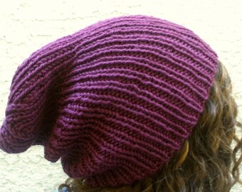 Summer Sale! Super Slouchy Beanie - Mens/Womens Hip Hop/ Hipster Hat - Now offered in 4 colors!!
