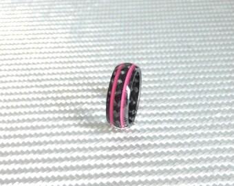 carbon fiber pink lines