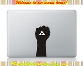 Zelda Macbook Decal -- New design Decals, Macbook Partial Stickers, Macbook Decal Stickers  for Macbook Pro / Macbook Air / iPad