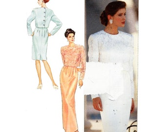 Butterick Sewing Pattern 4627 Misses' Top and Skirt  Size:  6-8-10 by  Ronnie Heller  Uncut