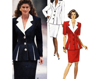 Butterick Sewing Pattern 5268 Misses' top and Skirt  Size:  12-14-16  Uncut