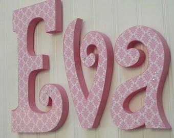 Nursery decor, Nursery wall decor, Hanging nursery letters, nursery letters, baby girl nursery letters, nursery decor, nursery wall letters