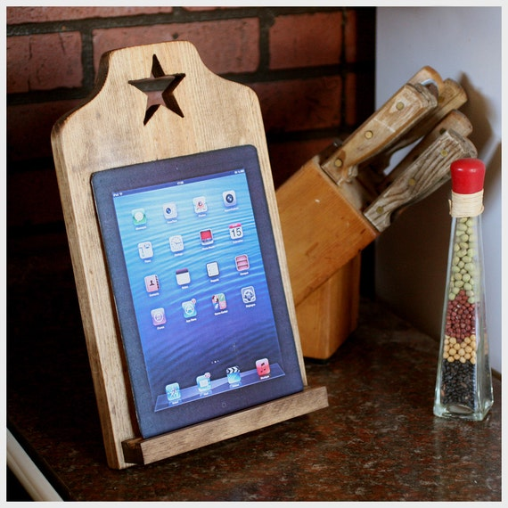 Ipad Stand Kindle Tablet Stand Recipe Kitchen Stand Star