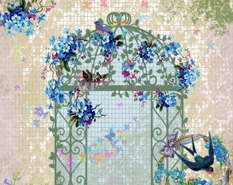 Pretty Garden Collage.