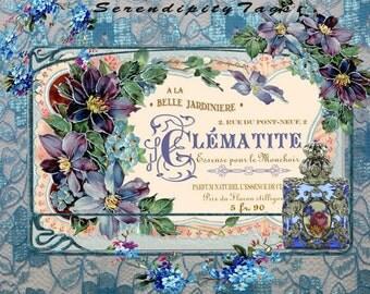 Perfume Label Collage