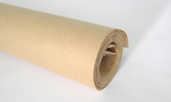 Kraft wrapping paper roll 30 feet roll kraft by for Brown craft paper rolls