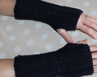 Sleeves wool fingerless gloves