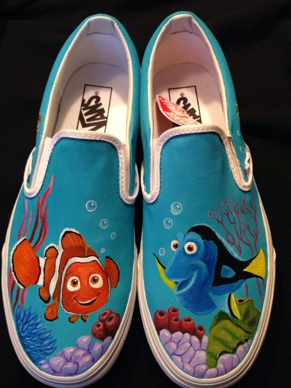 items similar to custom hand painted shoes disney