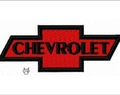Chevrolet 7 sizes Applique & Embroidery Designs - N367