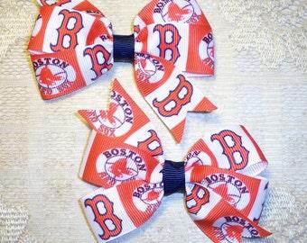 Boston Red Sox MLB Bow Set